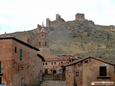 Sierra de Albarracín y Teruel;garganta del infierno la catedral del senderismo carnavales el tiembl
